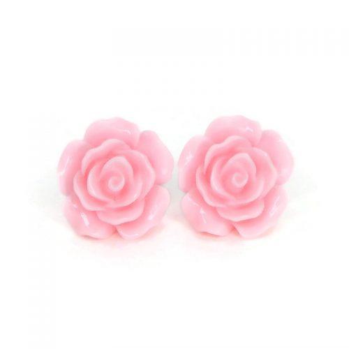 pink-rose-earrings