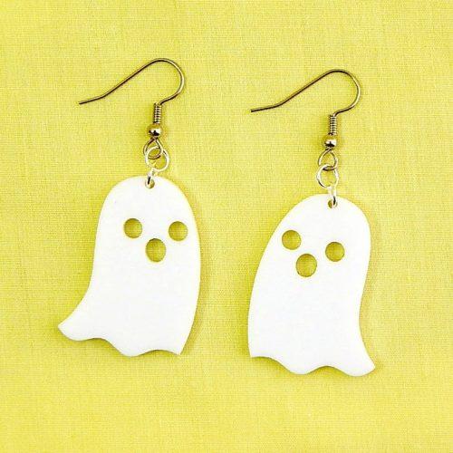 Halloween Ghost Dangle Earrings by Levanter
