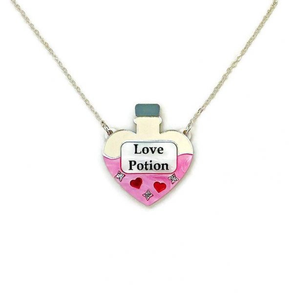 Love Potion Acrylic Necklace by Levanter