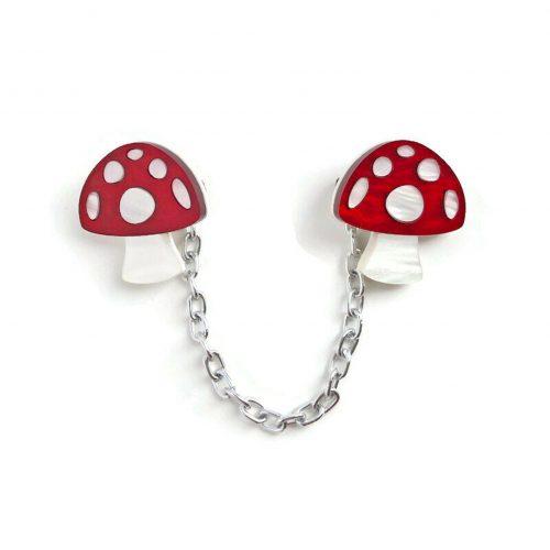 Mushroom Sweater Clip